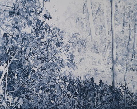 Central Park #4, oil on canvas, 160 x 200 cm, 2011